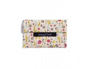 KEEP LEAF Mini pochette lavable - Bloom
