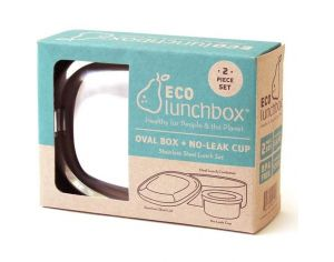 ECOLUNCHBOX Lunch Box Inox 2 pièces