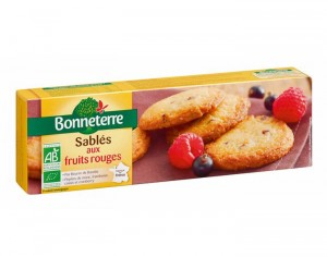BONNETERRE Sablés aux Fruits Rouges - 150 g