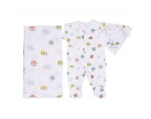 SEVIRA KIDS Kit Dors-Bien + Bandana + Lange - Little Friends