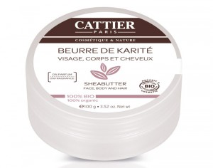 CATTIER Beurre de Karit� - 100 g