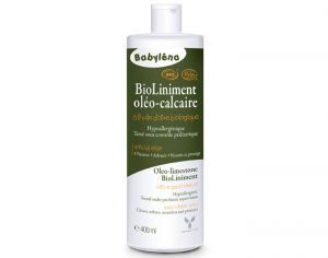 Liniment Babylena - Bio Liniment Oléo Calcaire - 400 ml  Lot de 2