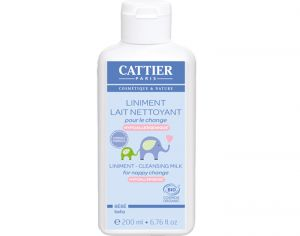CATTIER Liniment Bio Bébé - 200 ml
