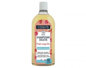 COSLYS Shampooing Douche aux Fruits Rouges 750ml