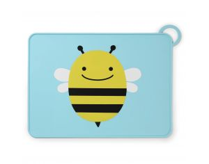 SKIP HOP Set de table en Silicone - Abeille