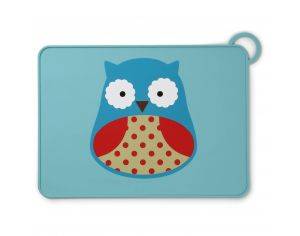 SKIP HOP Set de table en Silicone - Hibou