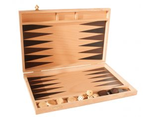 JURABUIS Backgammon Hêtre