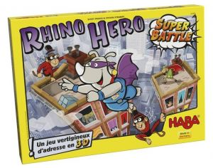 HABA Rhino hero : Super Battle - Dès 5 ans