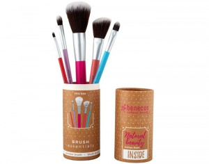 BENECOS Coffret Brush Essentials - Lot de 5 Pinceaux