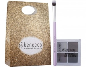 BENECOS Coffret All About Eyes - Pinceau et Fard à Paupières