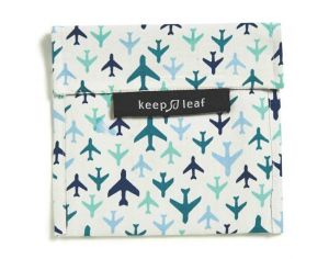 KEEP LEAF Pochette lavable large - Avion