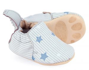 EASY PEASY Chaussons en Cuir Blumoo Dream Inwi-Blanc 0-6 mois