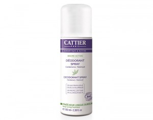 CATTIER Déodorant Spray Brume Active - 100 ml