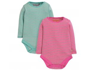 FRUGI Lot de 2 Body - Imprimés Pointelle