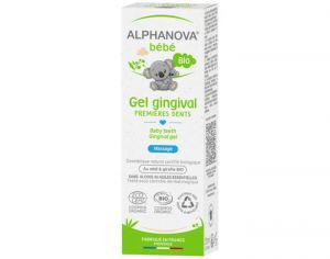 ALPHANOVA Bébé Gel Gingival 1ères Dents - 20 ml