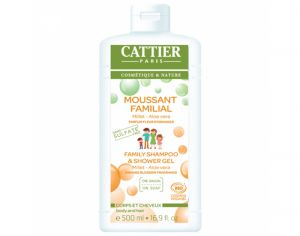 CATTIER Moussant Familial Sans Sulfates - 500 ml