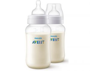 AVENT Biberon Anti-colic - Lot de 2 x 330 ml