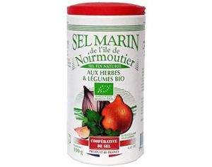Sel Marin Fin aux herbes biologiques - 100 g
