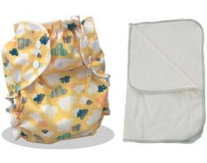 APPLECHEEKS Kit Couche Lavable Enfant - 14-30kg Why so Sirrus