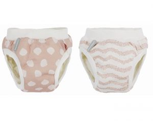IMSEVIMSE Duo Culottes d'Apprentissage Coquillages SL : 13-17 kg
