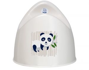 ROTHO Pot d'apprentissage de la continence - 100% Biodégradable - Panda