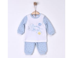 BEBESEO Pyjama Dream big little one - Bleu 3-6 mois