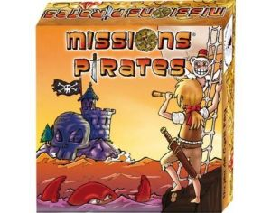 SANDRA MOREIRA EDITIONS Missions pirates - Dès 6 ans