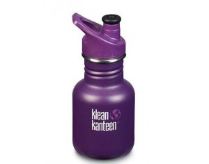 KLEAN KANTEEN Gourde Inox Sippy Grape Jelly - Bouchon Sport - 355ml