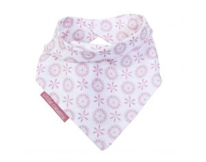 LITTLE CREVETTE Bavoir Bandana Lovely Emilie