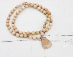 KANGAROO CARE Collier d'Allaitement et de Portage - Juniper Wood Mala