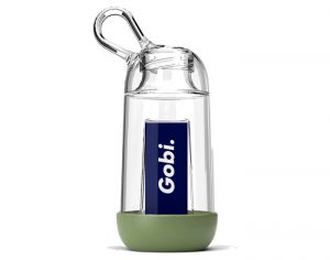GOBI Gourde Personnalisable Made in France en Tritan - Vert Olive - 25 cl