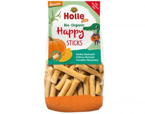 HOLLE Happy Sticks Courge Romarin - 100 g - Dès 3 ans