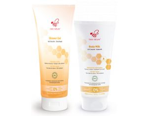 BEE NATURE Duo Lait Corps + Gel Douche Bee Nature