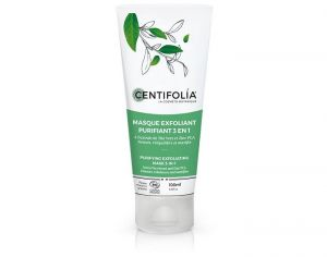 CENTIFOLIA Masque Exfoliant Purifiant 3 en 1 - 100ml