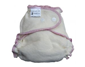 LULU NATURE Couche lavable BEBE NATURE - Taille S