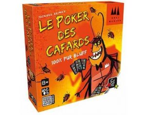 GIGAMIC Poker des cafards - Dès 8 ans