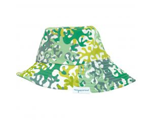 MAYOPARASOL Camouflage Chapeau Anti UV - Vert Taille 45 cm (0-6 mois)
