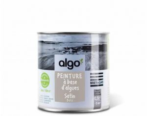 ALGO PAINT Peinture Biosourcée Décorative Brune Finition Satin  (Batz)
