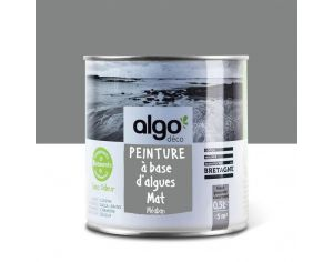 ALGO PAINT Peinture Biosourcée Décorative Grise Finition Satin  (Méaban)