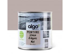 ALGO PAINT Peinture Biosourcée Décorative Brune Finition Satin (Cavallo)