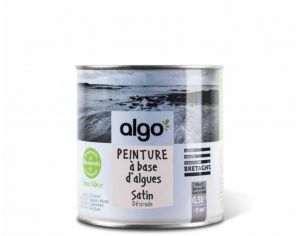 ALGO PAINT Peinture Biosourcée Décorative Rose Finition Satin  (Désirade)