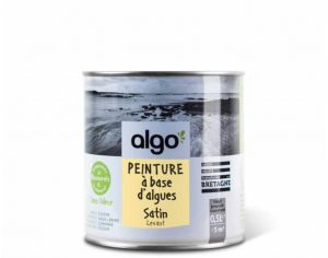 ALGO PAINT Peinture Biosourcée Décorative Jaune Finition Satin  (Levant)