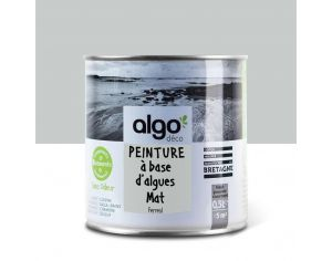 ALGO PAINT Peinture Biosourcée Décorative Grise Finition Satin  (Ferreol)
