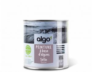 ALGO PAINT Peinture Biosourcée Décorative Mauve-Violette Finition Satin (Everine)