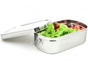 ECOLUNCHBOX Lunch Box Inox Big Ovale