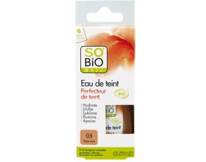 SO'BIO Fond de Teint Longue Tenue - SPF 15 - 30 ml 03 Beige Dor�