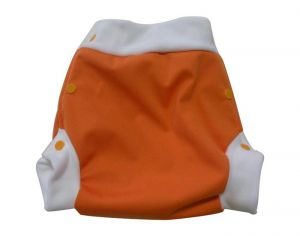LULU NATURE Culotte de Protection Lulu Boxer Orange - A pressions