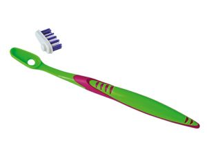YAWECO Brosse à Dents Nylon - Tête Interchangeable - Médium