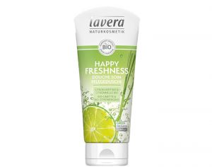 LAVERA Gel Douche Happy Freshness Citron Vert et Citronnelle - 200 ml