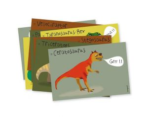 PIROUETTE CACAHOUETE Cartes d'invitation - Lot de 8